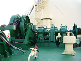 Low Pressure Type Deck Machinery