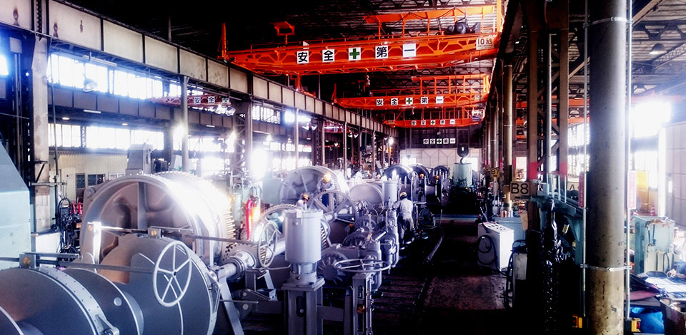 Deck machinery manufacturing facilities