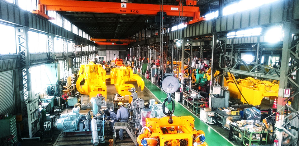Grab bucket manufacturing facilities